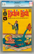 Silver Age (1956-1969):Humor, Richie Rich #1 (Harvey, 1960) CGC VG/FN 5.0 Off-white to white pages....
