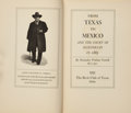 Books:First Editions, Alexander Watkins Terrell. From Texas to Mexico and the Court ofMaximilian in 1865. Dallas: The Book Club of Te...