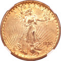 Saint-Gaudens Double Eagles, 1920-S $20 MS61 NGC. CAC....