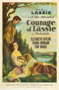"Movie Posters:Drama, Courage of Lassie (MGM, 1946). One Sheet (27"" X 41"").. ..."