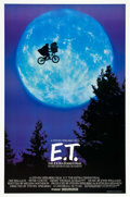 "Movie Posters:Science Fiction, E.T. The Extra-Terrestrial (Universal, 1982). One Sheet (27"" X40.5""). ""Bicycle"" Style.. ..."
