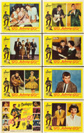 "Movie Posters:Rock and Roll, Go, Johnny, Go! (Hal Roach, 1959). Lobby Card Set of 8 (11"" X 14"")and Photos (2) (8"" X 10"").. ... (Total: 10 Items)"