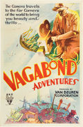 "Movie Posters:Short Subject, Vagabond Adventures (RKO, 1932). One Sheet (27"" X 41"").. ..."
