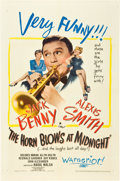 "Movie Posters:Fantasy, The Horn Blows at Midnight (Warner Brothers, 1945). One Sheet (27""X 41"").. ..."