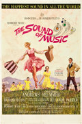 "Movie Posters:Academy Award Winners, The Sound of Music (20th Century Fox, 1965). One Sheet (27"" X 41"").Todd AO Roadshow Style.. ..."