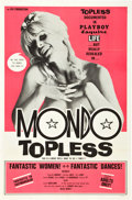 "Movie Posters:Sexploitation, Mondo Topless (Eve Productions, 1966). One Sheet (27"" X 41"").. ..."