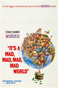 """Movie Posters:Comedy, It's a Mad, Mad, Mad, Mad World (United Artists, 1963). One Sheet(27"""" X 41""""). Cinerama Style A.. ..."""