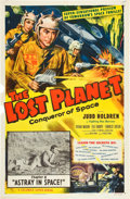 """Movie Posters:Serial, The Lost Planet (Columbia, 1953). One Sheet (27"""" X 41""""). Chapter 8--""""Astray in Space."""". ..."""