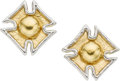 Estate Jewelry:Earrings, Gold, Platinum Earrings. ...