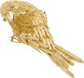 Estate Jewelry:Brooches - Pins, Diamond, Gold Brooch, E. Pearl. ...