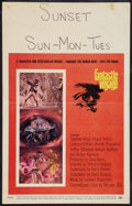 """Movie Posters:Science Fiction, Fantastic Voyage (20th Century Fox, 1966). Window Card (14"""" X 22""""). Science Fiction.. ..."""