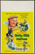 """Movie Posters:Fantasy, Darby O'Gill and the Little People Lot (Buena Vista, 1959). Window Cards (2) (14"""" X 22""""). Fantasy.. ... (Total: 2 Items)"""