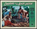 """Movie Posters:Horror, Creature From the Black Lagoon (Universal International, 1954). Lobby Card (11"""" X 14""""). Horror.. ..."""