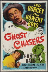 """Ghost Chasers (Monogram, 1951). One Sheet (27"""" X 41""""). Bowery Boys Comedy"""