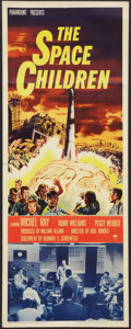 "Movie Posters:Science Fiction, The Space Children (Paramount, 1958). Insert (14"" X 36""). ScienceFiction.. ..."