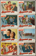 "Movie Posters:Adventure, Adventure's End (Realart, R-1949). Lobby Card Set of 8 (11"" X 14"").Adventure.. ... (Total: 8 Items)"