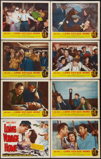 "The Long Voyage Home (Masterpiece Productions, R-1948). Lobby Card Set of 8 (11"" X 14""). Drama. ... (Total: 8..."