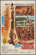 """Movie Posters:Adventure, Drums of Africa (MGM, 1963). One Sheet (27"""" X 41""""). Adventure.. ..."""