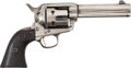Western Expansion:Cowboy, Colt Single Action Army Revolver Accompanied by Colt FactoryLetter....