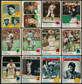 Baseball Cards:Sets, 1973 Topps Baseball High Grade Near Set (560/660). ...