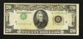 Error Notes:Inverted Third Printings, Fr. 2060-D $20 1950A Federal Reserve Note. Very Fine.. ...