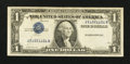Error Notes:Inverted Third Printings, Fr. 1613w $1 1935D Silver Certificate. Fine.. ...