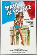 """Movie Posters:Adult, Made in France Lot (Unknown, 1970s). One Sheets (3) (27"""" X 40""""). Adult.. ... (Total: 3 Items)"""