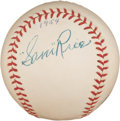Autographs:Baseballs, 1954 Sam Rice Single Signed Baseball....