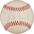 Autographs:Baseballs, 1960's Frank Frisch Single Signed Baseball....