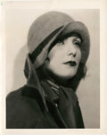 """Movie Posters:Drama, Greta Garbo by Ruth Harriet Louise (MGM, Late 1920s). Portrait Photo (8"""" X 10"""").. ..."""