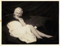 """Movie Posters:Miscellaneous, Jean Harlow by Pach Brothers Studio (MGM, 1930s). Portrait Photo (10.5"""" X 14"""").. ..."""