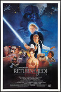 """Movie Posters:Science Fiction, Return of the Jedi (20th Century Fox, 1983). One Sheet (27"""" X 41"""").Style B. Science Fiction.. ..."""
