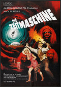 "Movie Posters:Science Fiction, The Time Machine (MGM, 1960). German A1 (23"" X 33""). Science Fiction.. ..."