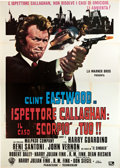 "Movie Posters:Crime, Dirty Harry (Warner Brothers, 1971). Italian 4 - Foglio (55"" X78""). Crime.. ..."