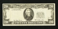 Error Notes:Third Printing on Reverse, Fr. 2072-E $20 1977 Federal Reserve Note. Very Fine.. ...