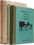 Books:First Editions, Six Northeastern Texas County Histories, including: ArmisteadAlbert Aldrich. The History of Houston County, Texas.... (Total:6 Items)