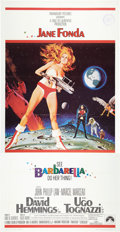 "Movie Posters:Science Fiction, Barbarella (Paramount, 1968). Three Sheet (41"" X 81"").. ..."
