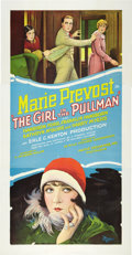 """Movie Posters:Comedy, The Girl in the Pullman (Pathé, 1927). Three Sheet (41"""" X 81"""").Style B.. ..."""