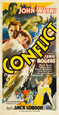 "Movie Posters:Drama, Conflict (Universal, 1936). Three Sheet (41"" X 81"").. ..."