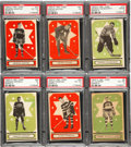 Hockey Cards:Lots, 1933-34 V304A and V304B B O-Pee-Chee PSA-Graded Group of (6). ...