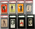 Hockey Cards:Lots, 1910's-1930's Vintage Hockey Type-Card Collection (9). ...