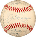 Autographs:Baseballs, 1950 New York Yankees Team Signed Baseball....