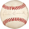 Autographs:Baseballs, Circa 1960 Earle Combs Single Signed Baseball....