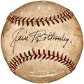 Autographs:Baseballs, Early 1930's Jim Bottomley Signed Baseball....