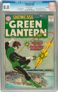Silver Age (1956-1969):Superhero, Showcase #22 Green Lantern - Savannah pedigree (DC, 1959) CGC VF8.0 Off-white pages....