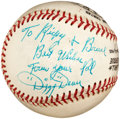 "Autographs:Baseballs, Circa 1970 ""Dizzy"" Dean Single Signed Baseball...."