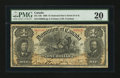 Canadian Currency: , DC-13b $1 1898 PMG Very Fine 20.. ...