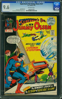 Superman's Pal Jimmy Olsen #147 (DC, 1972) CGC NM+ 9.6 Off-white pages
