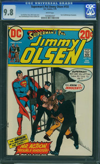 Superman's Pal Jimmy Olsen #155 (DC, 1973) CGC NM/MT 9.8 White pages