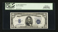 Error Notes:Ink Smears, Fr. 1652 $5 1934B Silver Certificate. PCGS Gem New 65PPQ.. ...